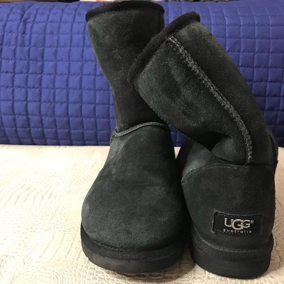 9d0e9b63b1e Ugg black boots